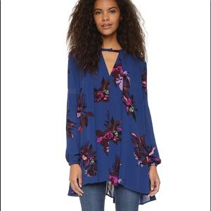 Free People Orchid Swing Top